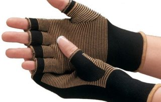 Copper Compression Gloves
